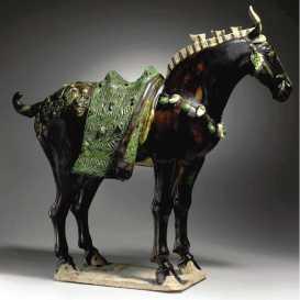 horse ceramic