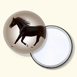 """Shadow"" Pocket Mirror"