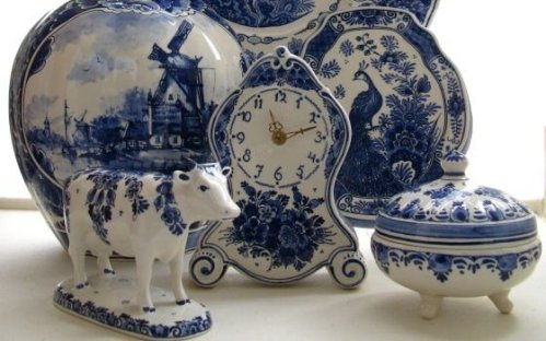 Delftware inspired