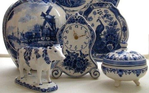 Delftware inspired