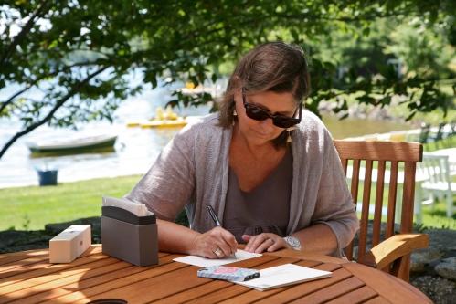 Where do you write? Barbara