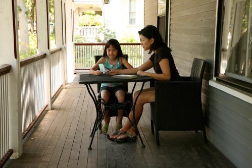 Where do you write? The front porch
